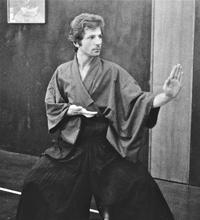 1973 allenamenti nel dojo di Milano