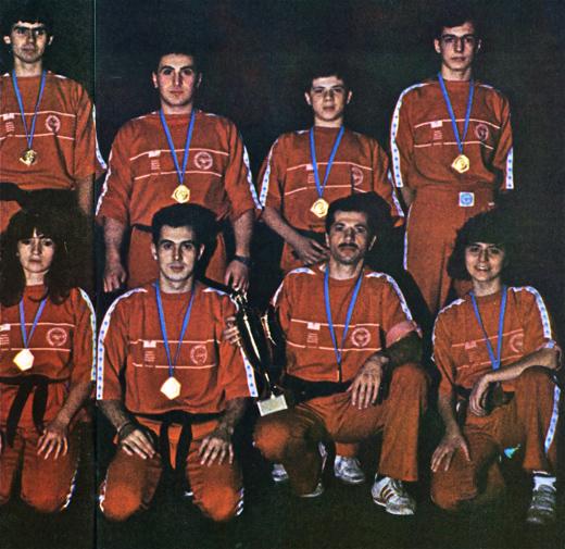 K M Corsico vince gli europei ad Anversa 1985